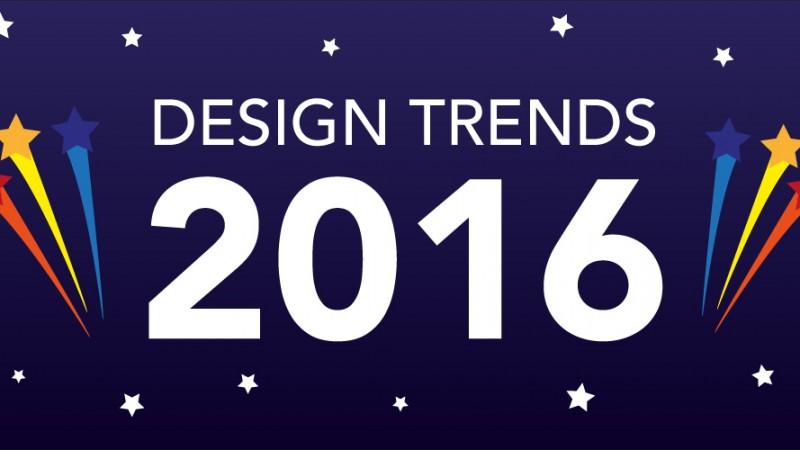 Website Design Trends for 2016