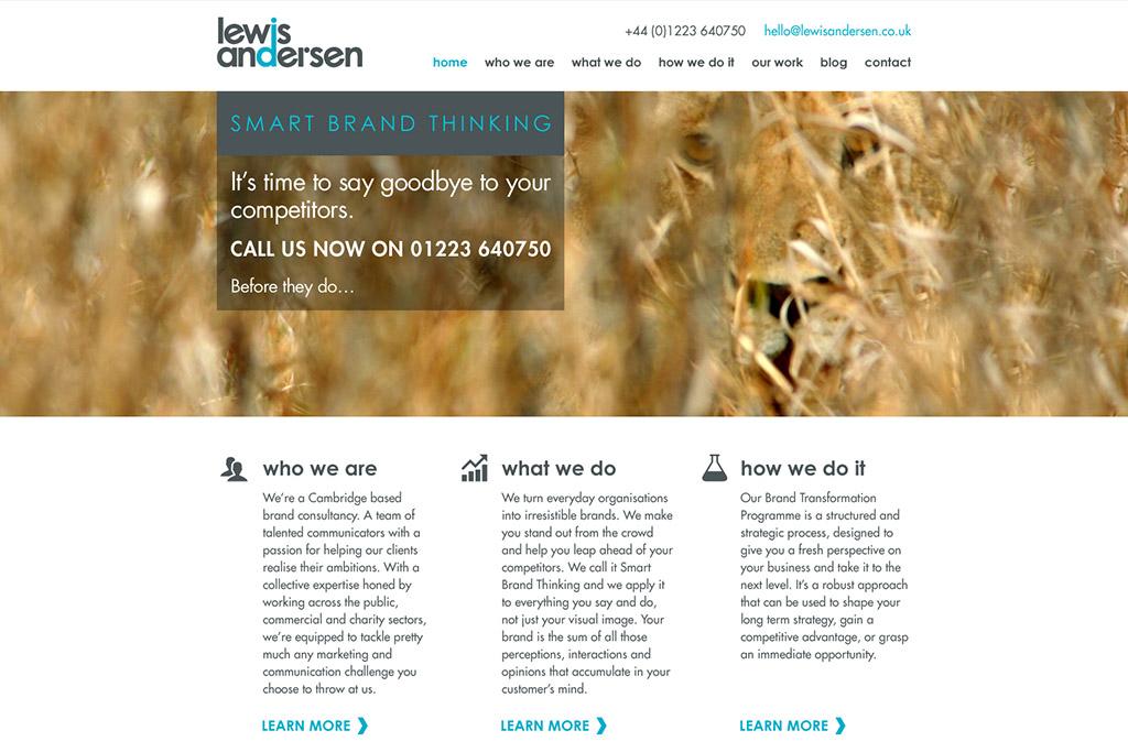 la-branding-website
