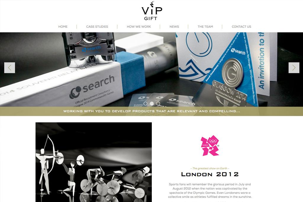 vipgift-website-homepage