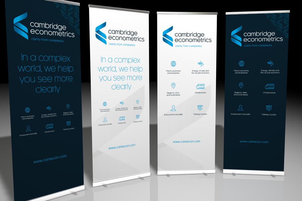 Cambridge Econometrics Roller Banners