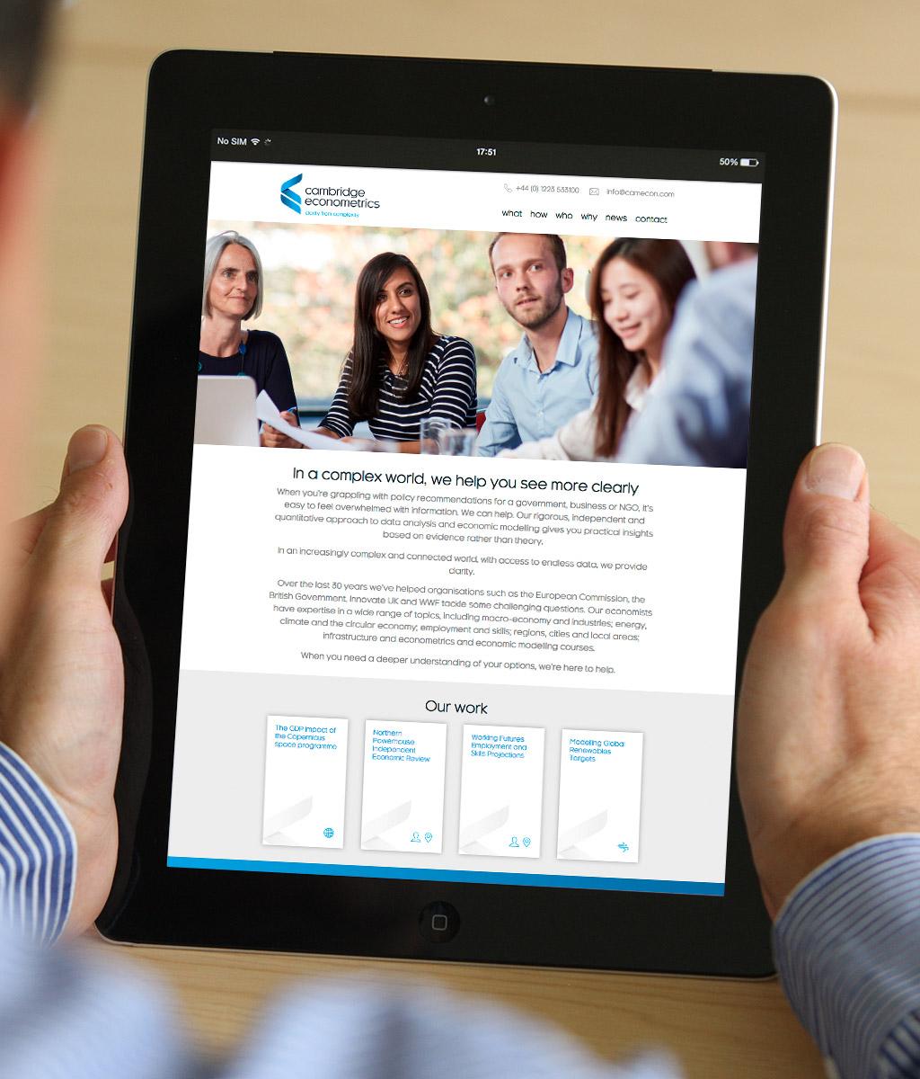 Cambridge Econometrics Website