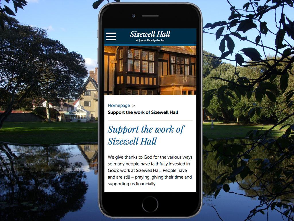 Sizewell Hall Website
