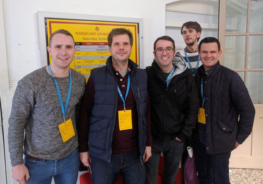 Fellowship Team at WordCamp 2017