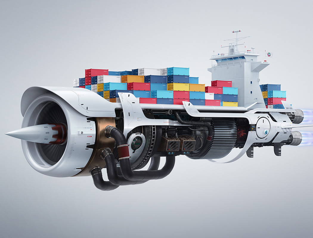 DP World London Gateway Supercharged campaign